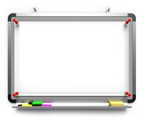 Whiteboard Clipchart Pinwand Stifte Blatt