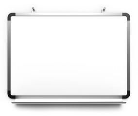Whiteboard Clipchart Pinwand leer Nägel
