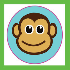 monkey cute cartoon characters cute graphics for kids