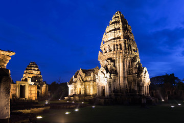 Prasart Phimai, ancient stone castle in Thailand