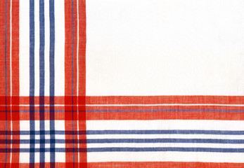 abstract background with plaid fabric