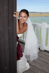Cache, cache la mariée