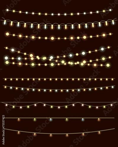 christmas lights - 73537423