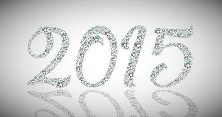 Happy diamond new year 2015