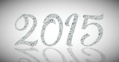 Happy diamond new year 2015