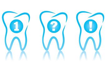 Dental graphic set