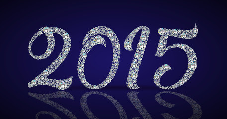 Diamond 2015 new year banner
