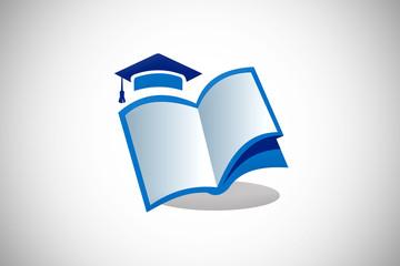 education book school design logo