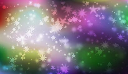 weihnachten sterne karte