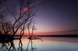 canvas print picture - Märchenhafter Sonnenuntergang