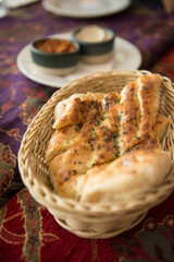 Turkish food. Traitional turkey food style.