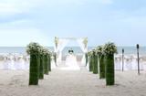 Fototapety Wedding setting