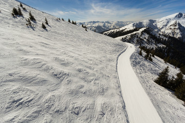 Alpine ski way