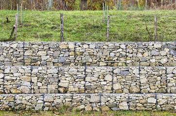 retaining wall gabion
