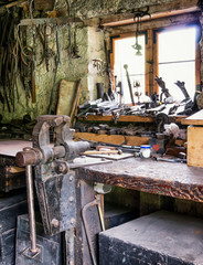 old workbench