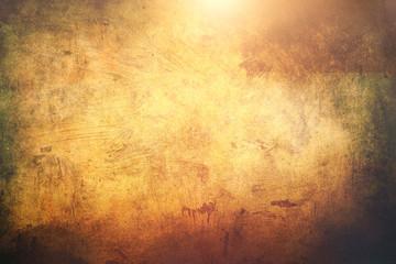 golden shinny grunge background or texture