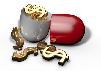 Costo farmaco, pillola spesa medicine, farmacia