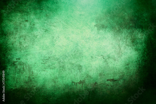 Fotobehang Licht, schaduw green grunge background or texture