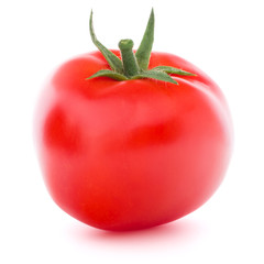 Tomato vegetable isolated on white background cutout