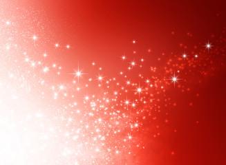 starlight red background