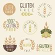 Gluten free labels. - 73542811