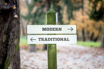 Rural signboard - Modern - Traditional