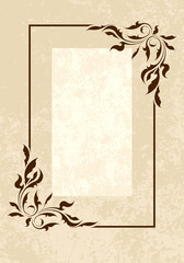 Elegant vintage background.
