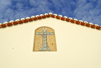 The Chapel of Nossa Senhora da Rocha gable end