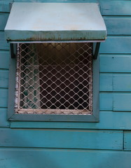 Blue window-Luganville-Vanuatu