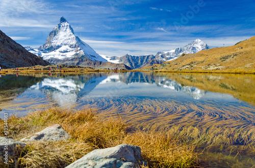 Poster Alpen Matterhorn