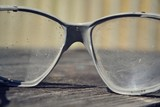 Fototapety Vintage glasses on a wooden table