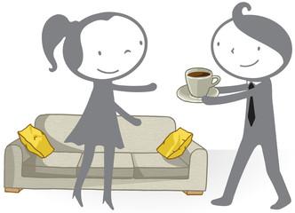Café à la maison