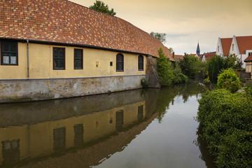 Die Aa in Burgsteinfurt