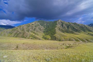 Mountain landscape, Altai, Russia.