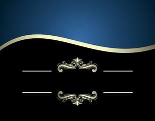 Illustration of luxurious invitation card