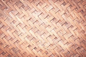 orange bamboo ware background