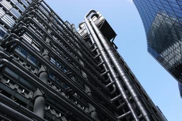 Innenstadt Moderne Industrie Glasbauten