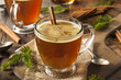 Homemade Hot Buttered Rum - 73548032