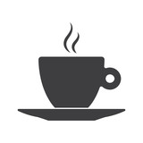 Fototapety Icon of Coffee Cup