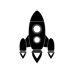 Icon of rocket.