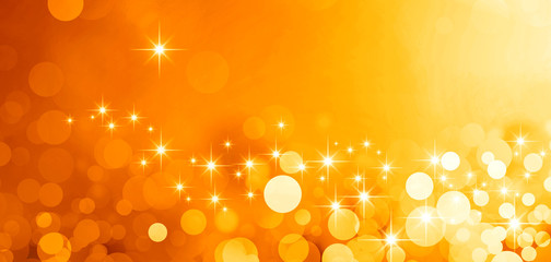 shiny gold greeting card background