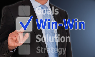 Win-Win Situation - Business Concept