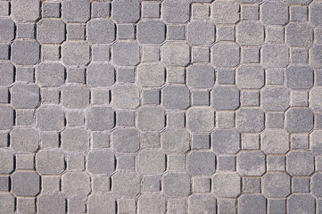 Gray pavement texture background
