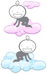 Babies in the sky