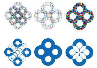 Vector motif set