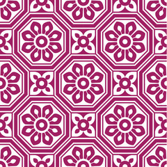 seamlessly octagonal pattern