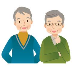 高齢者の男性 シニア