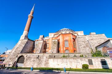 Exterior view of Hagia Sophia - Istanbul
