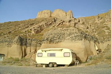 trailer desert  beach holidays