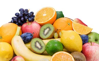 Healthy eating,ripe fruit .